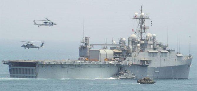ABD savaş gemisine 2 füze attılar