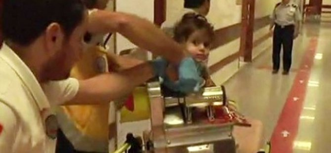 Suriyeli çocuk kıyma makinesine kolunu kaptırdı