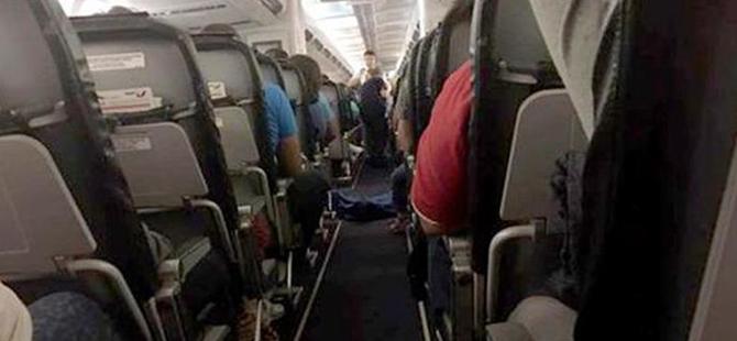 Uçakta cansız bedenle yolculuk