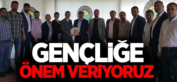 AK Parti Kocaeli Milletvekili, Genç Kocaelililer Derneğini ziyaret etti.