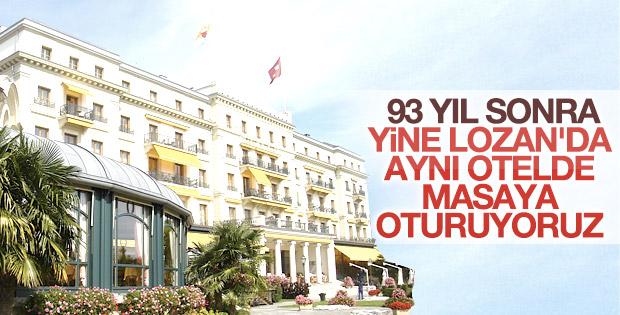 Lozan'ın imzalandığı otelde Suriye toplantısı yapılacak