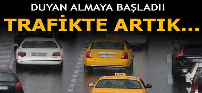 Trafikte artık `lüks` taksi dönemi başlıyor!