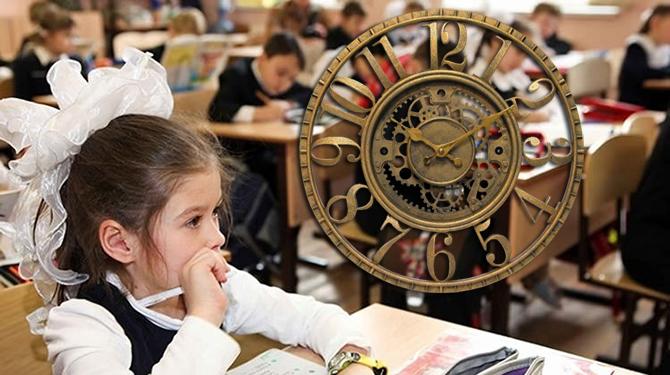 Saatler yerine okulları ileri alalım