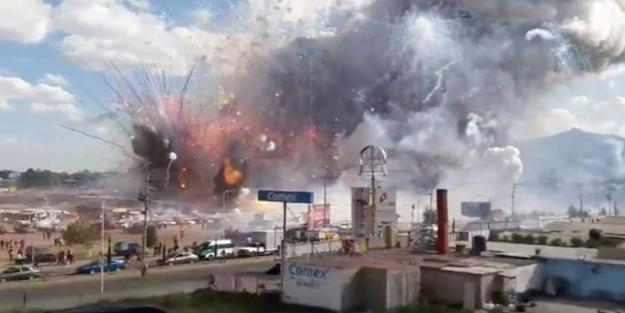 Meksika'da patlama! 27 ölü, 60'dan fazla yaralı