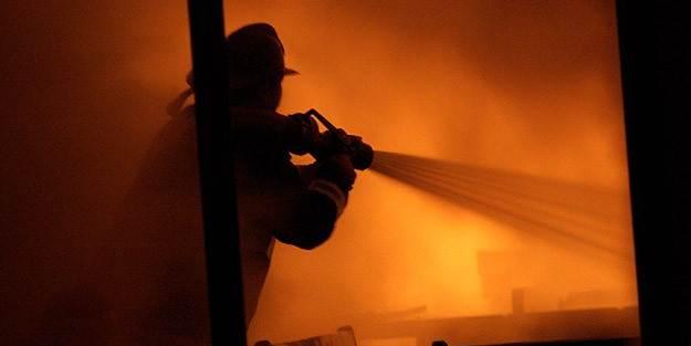 İstanbul'da kız öğrenci yurdunda yangın!