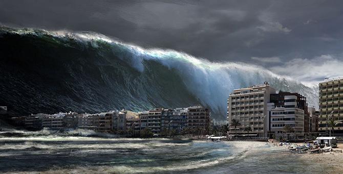 Deprem sonrası tsunami uyarısı yapıldı