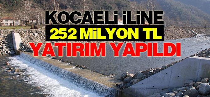 Kocaeli İline 252 Milyon Tl Yatırım Yapıldı