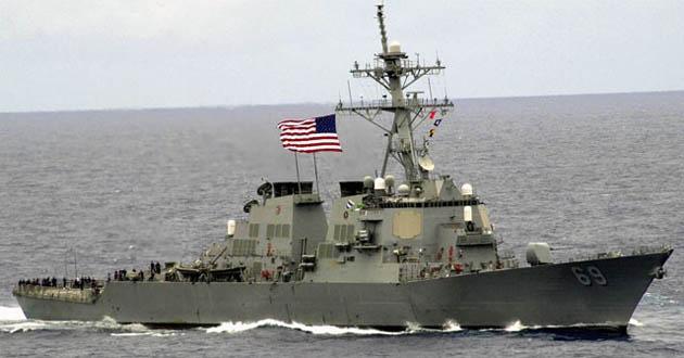 ABD gemileri İran gemilerine ateş açtı!