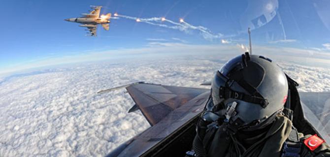F-16'lar vurdu: 11 terörist öldürüldü