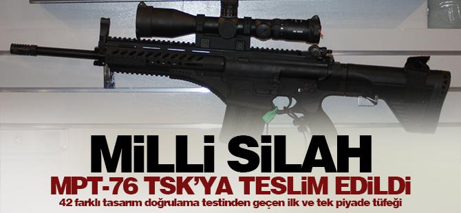 Tarihi gün! Milli silah TSK'ya teslim edildi