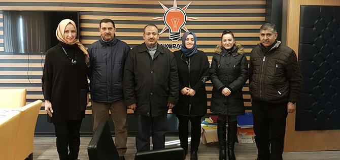 AK Partili Kadınlar Romanları Ağırladı