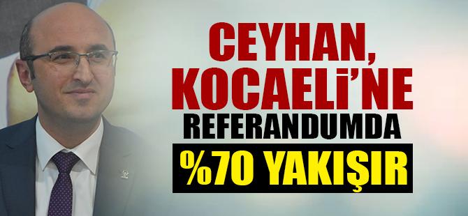 Ceyhan, Kocaeli'ne Referandumda %70 Yakışır