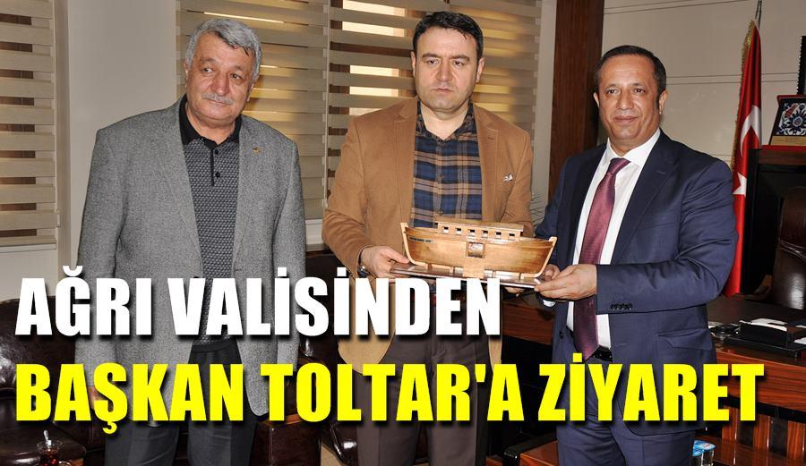 Ağrı Valisinden Başkan Toltar'a ziyaret