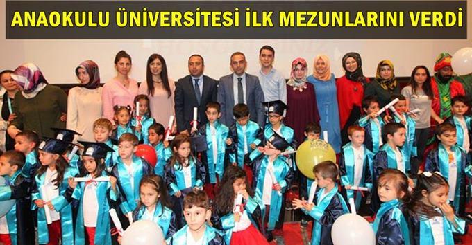 Anaokulu Üniversitesi Mezunlarını Verdi