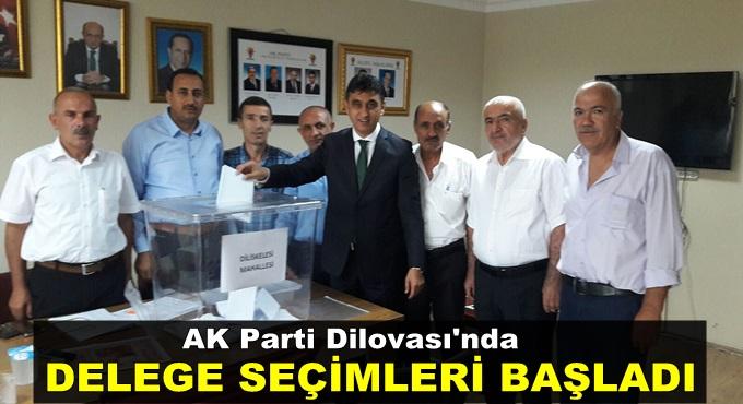 Dilovası'nda delege seçimi başladı