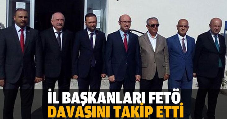 İl Başkanları Cezaevi'ne gitti