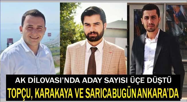 Topçu Karakaya ve Sarıca Ankara yolcusu