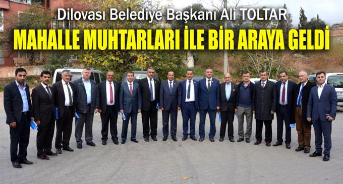 Başkan Toltar muhtarlarla bir araya geldi