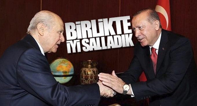 Cumhurbaşkanı Erdoğan ile Bahçeli ittifakı