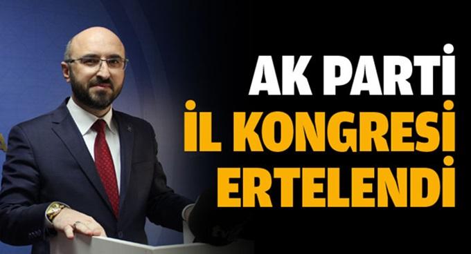 AK Parti Kocaeli'nin il kongresi ertelendi
