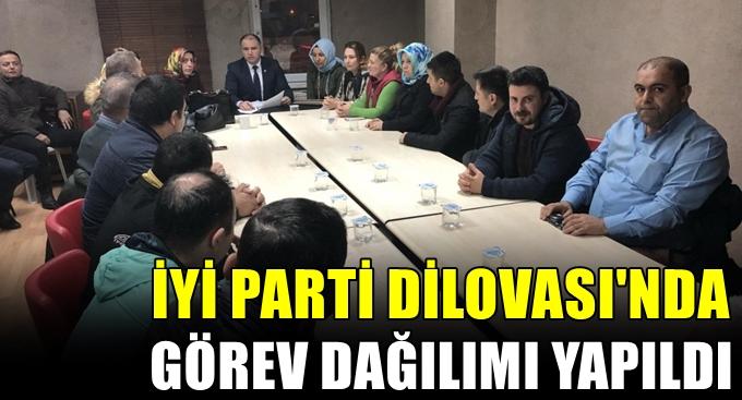 Dilovası İYİ Parti'de görev dağılımı yapıdlı