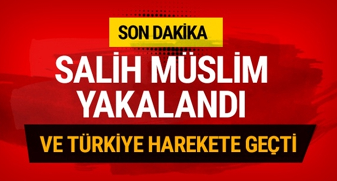 PYD elebaşı Salih Müslim Prag'da yakalandı!