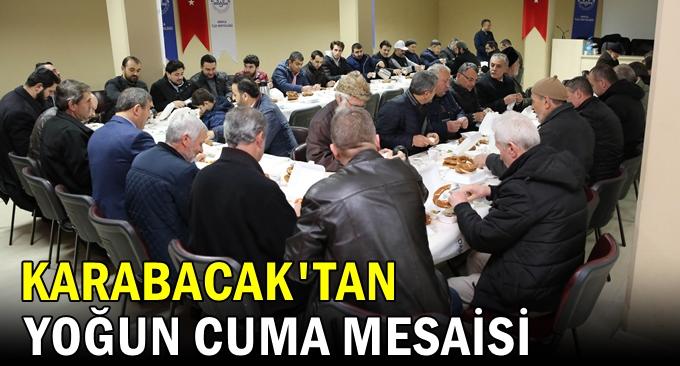 Karabacak'tan yoğun mesai