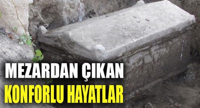 Nikomedya mezarından çıkan yüksek yaşam standardı