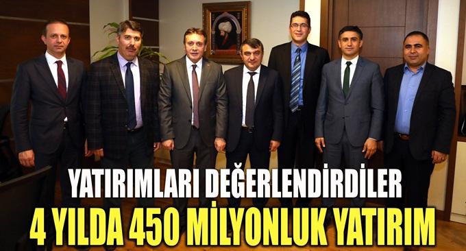 4 yılda 450 milyonluk yatırım!