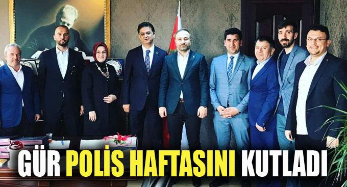 Ali Osman Gür ve Ekibi Polis Haftası Kutladı