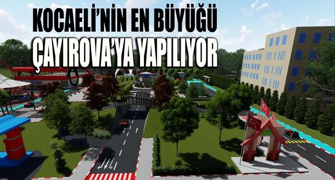Çayırova'ya trafik eğitim parkı