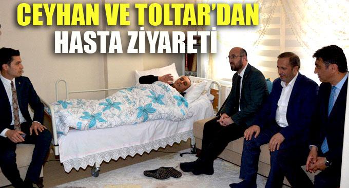 Ceyhan'dan Dilovası'nda hasta ziyareti