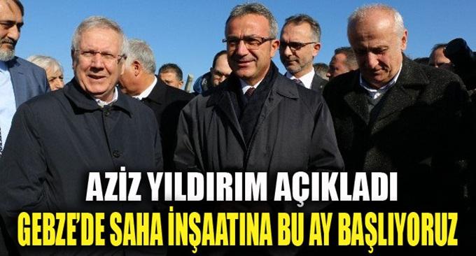 Fenerbahçe, Gebze'de saha yapacak!