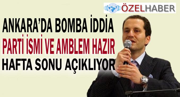Fatih Erbakan partisini açıklıyor!