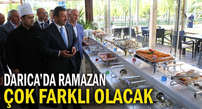 Anadolu'nun lezzet mirası Ramazan'da Darıca'da