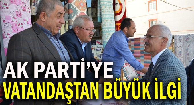 AK Parti'ye Gebze'de sevgi seli