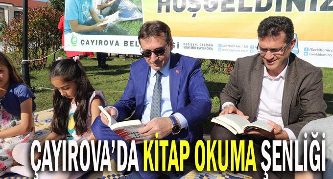 Çayırova'da Kitap Okuma Şenliği