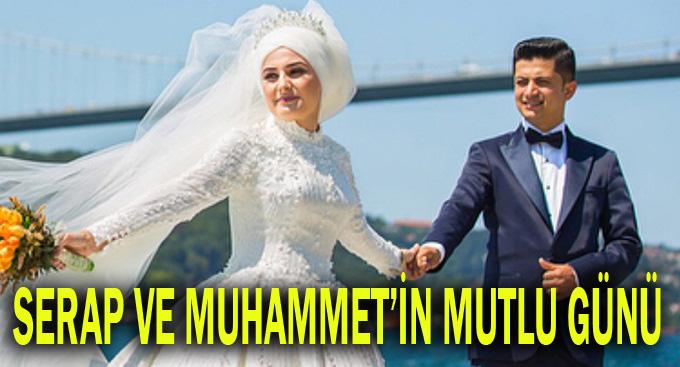 Serap ve Muhammet'in mutlu günü