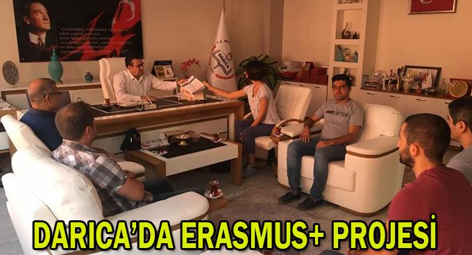 Darıca'da Erasmus+ Projesi