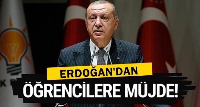 Erdoğan öğrencilere burs müjdesi