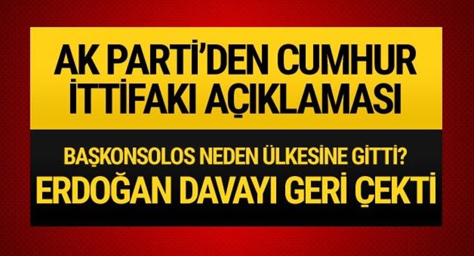 AK Parti'den Cumhur İttifakı ve Kaşıkçı açıklaması