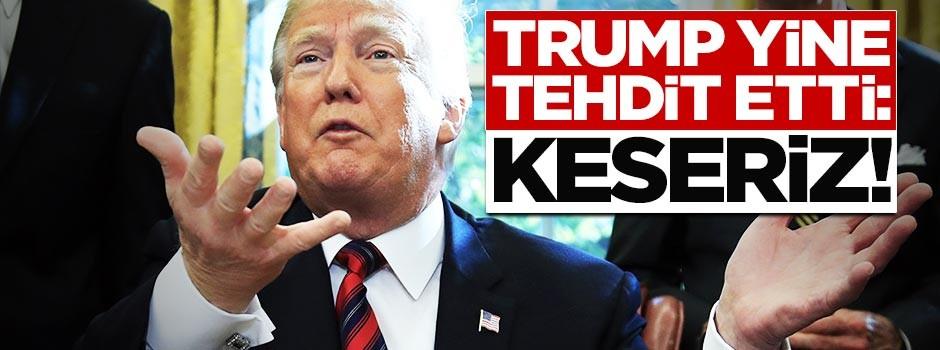 Trump, 3 ülkeyi birden tehdit etti: Keseriz!