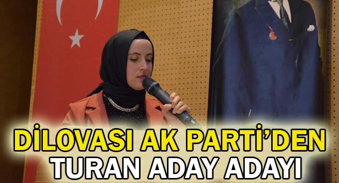 Dilovası AK Parti'den Turan aday adayı