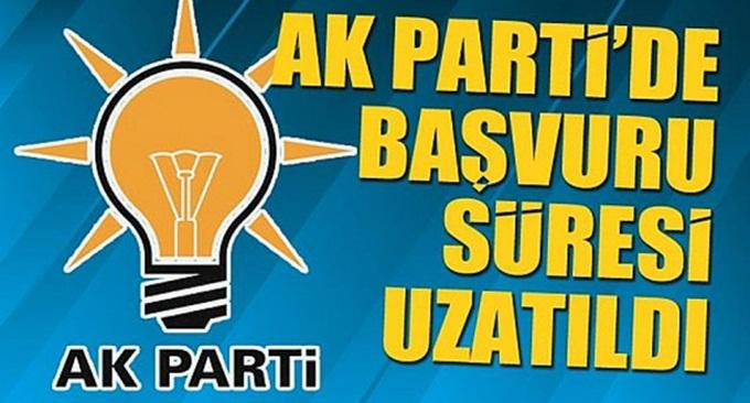 AK Parti'de süre uzatıldı