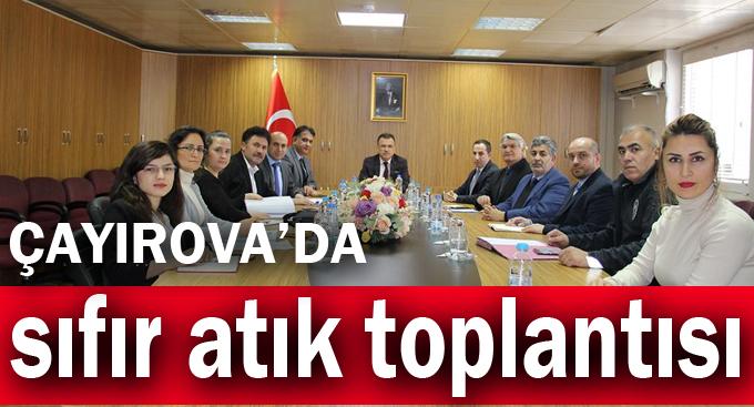 Çayırova'da sıfır atık toplantısı!