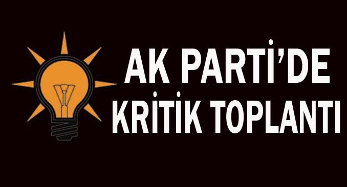 AK Parti'de gözler yarınki toplantıda