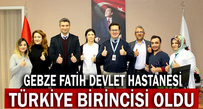 Gebze Fatih organ bağışında Türkiye birincisi
