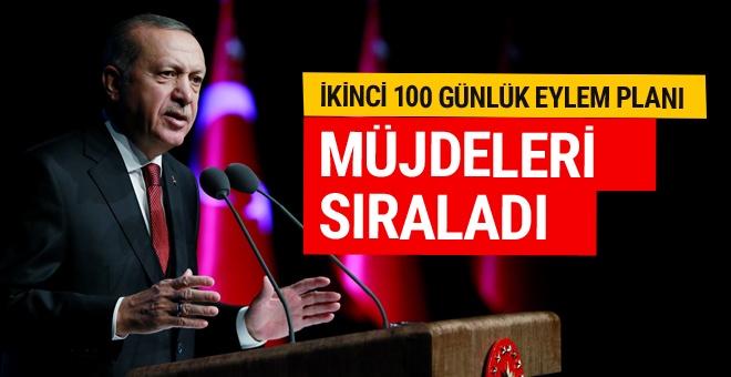 Erdoğan, 100 günlük eylem planı açıkladı