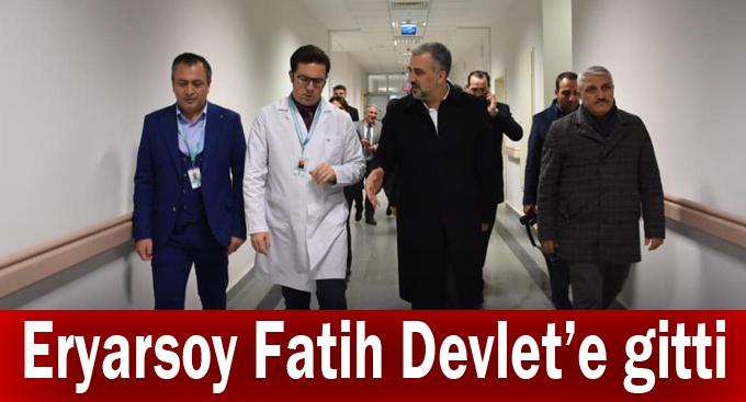 Eryarsoy Fatih Devlet'e gitti