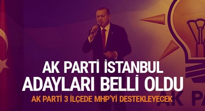 AK Parti, 3 ilçede aday göstermeyecek